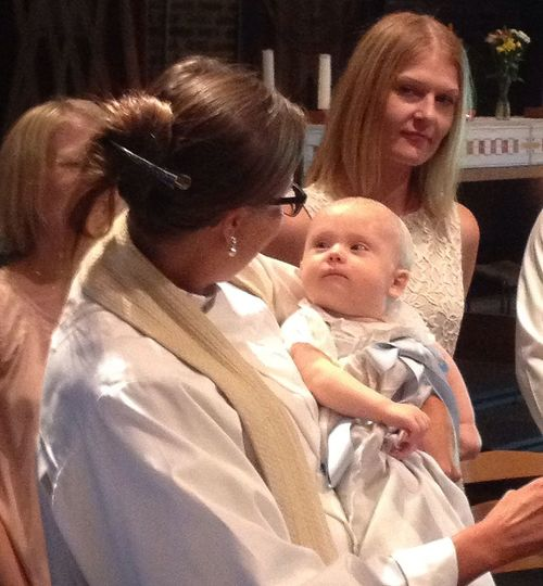 Children Christening At the christening of my cousins first born son