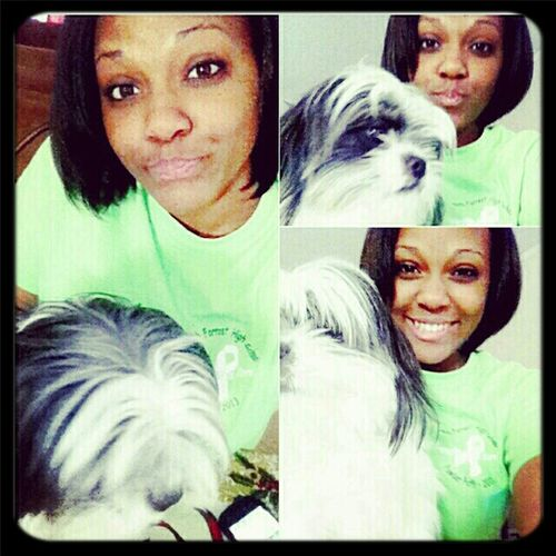 Me Nd Oreo This Morning #nomakeup