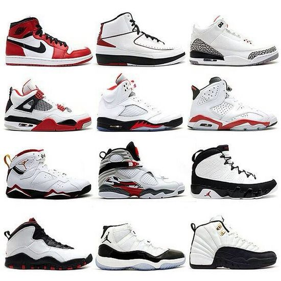 Jordan Brand Air Jordan I to Air Jordan XII.