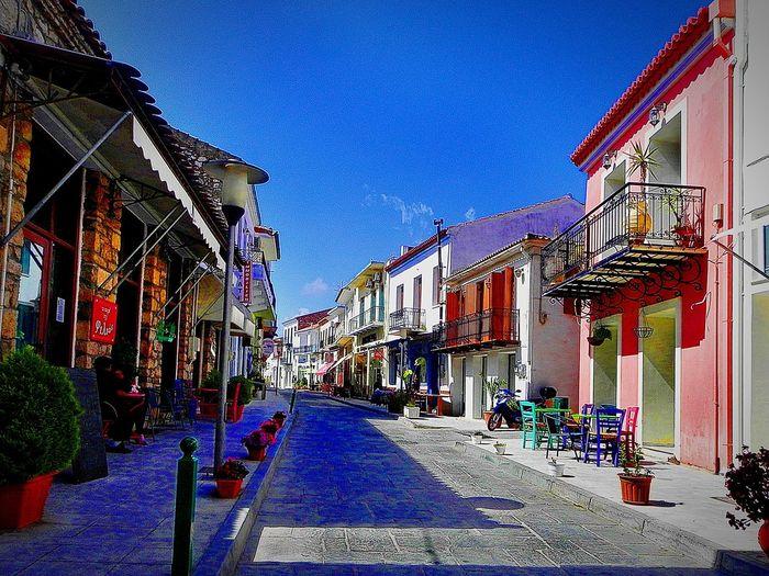 Peaceful Greece Siesta Spring Colors Oldtown