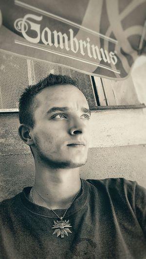 HDR Selfie Portrait Selfie ✌ Black & White Black And White Blackandwhite Afterwork After Work On Beer
