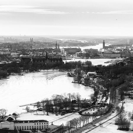 Flying High Sweden Stockholm Winter Eye4photography  EyeEm Best Shots From My Point Of View Monochrome Blackandwhite Black And White Bw_collection