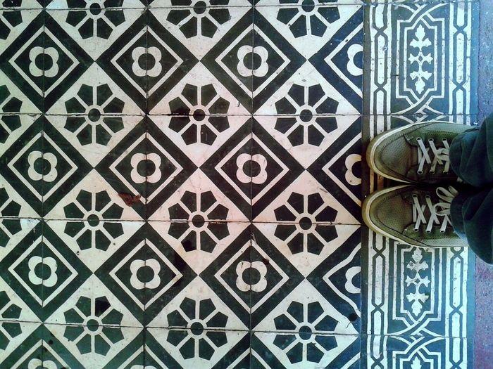 Onde eu passo... Brazil Brasil ♥ Recife, BRASIL Pernambuco Whereilive Myfoot Tiled Floor Tiles