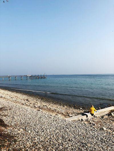Sea Water Beach Land Sky Horizon Over Water Horizon Scenics - Nature Day Outdoors Nature EyeEmNewHere