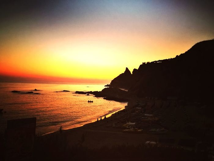 Sunset Sea Beach Scenics Nature Beauty In Nature Tranquility