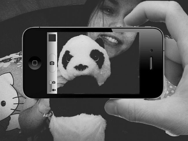 That's Me Enjoying Life Hello World Cheese! Toys Black & White Eyes Panda Haters Gonna Hate I Am Beautiful