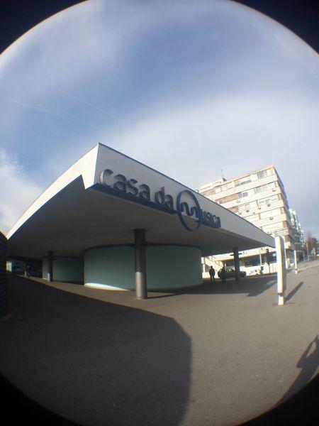Fisheye Casadamusica Metrodoporto EyeEm Porto