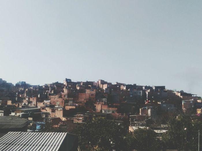 Houses Houses And Windows Favela São Paulo
