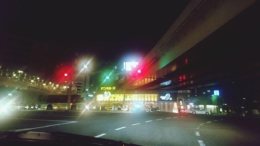 こんなところにもあるんだ! Night Nightlife Illuminated Built Structure Japan Photography City