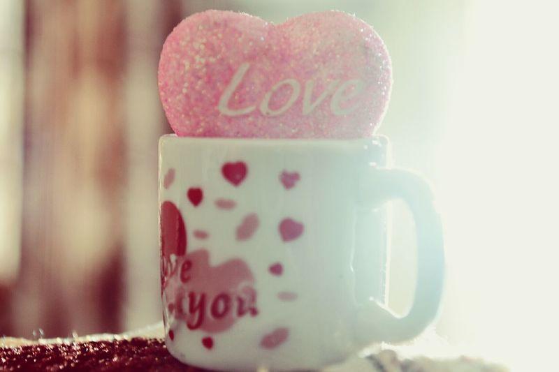 Love ♥ Showpiece Light Softlight  Softfocus Homedecor