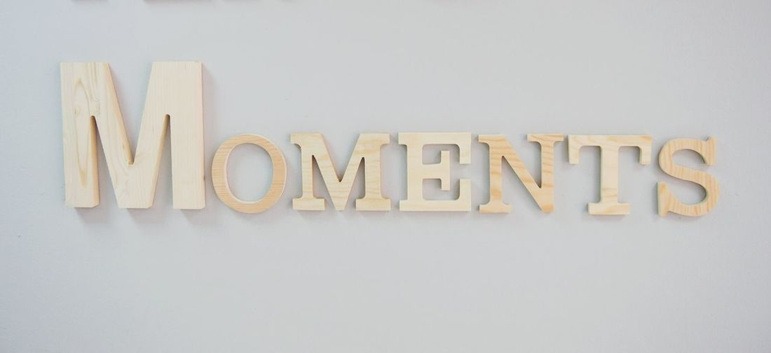 EyeEm Selects Text Western Script Communication Single Word Alphabet Wood - Material No People Indoors  White Background Close-up Day