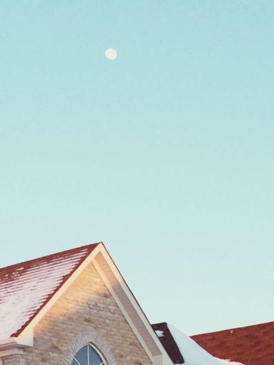 That moon tho. 5:00