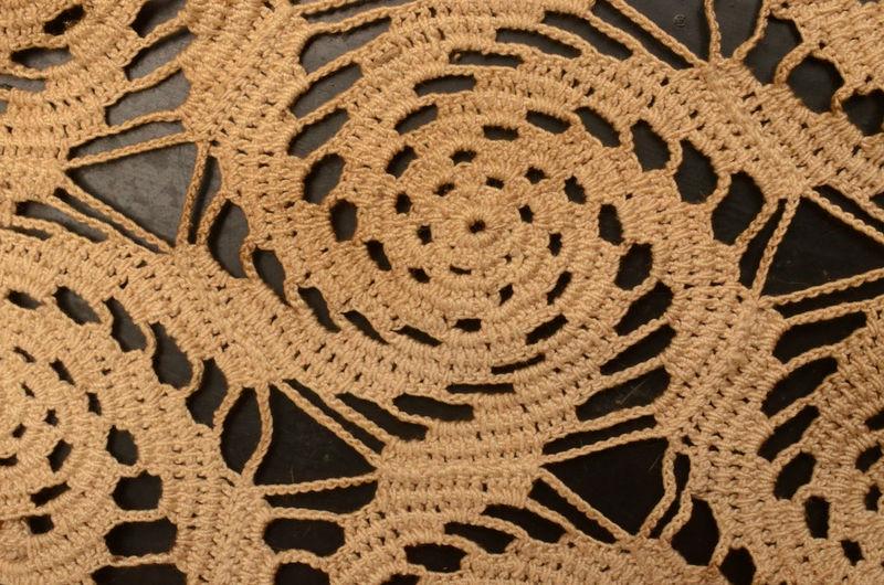 Full frame shot of crochet