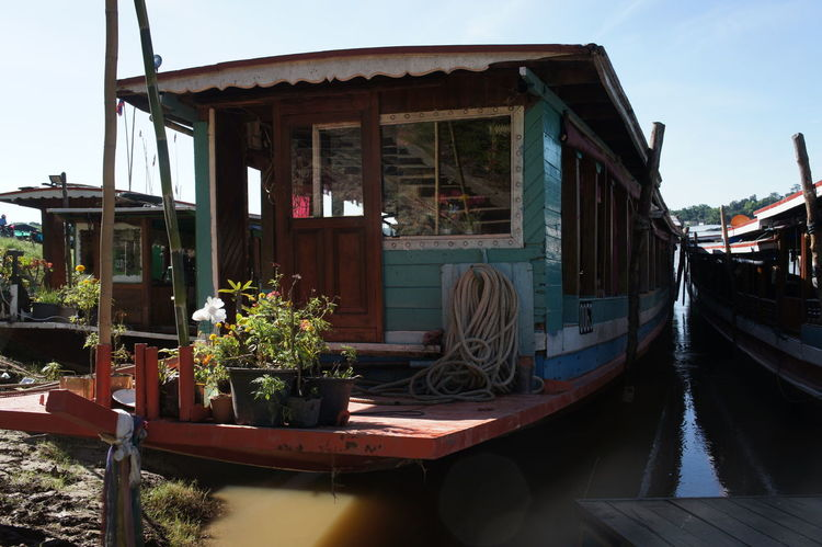 Architecture Building Exterior Built Structure Day Mekong Mekong River Nature No People Outdoors River Cruise River View Riverscape Riverside Tree Water