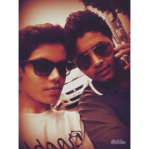 Retrica Freinds4ever Friends4Life  Dudes Boys Goodboys Badboys Wat Ever People May Say We Dont Care Rayban Aviatorshades Wafrare SamsungS4 IPhone4s Instalike Instamood Instaclick Brotherhood Iphoneclick
