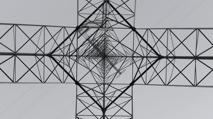 Electricity  Power Supply Connection Fuel And Power Generation Electricity Pylon Concentric Symmetry Pattern Grid Power Line  Sky Cable No People Business Finance And Industry Abstract Silhouette Technology Complexity Close-up Outdoors Enjoy The New Normal Architecture Cloud - Sky Low Angle View Electricity