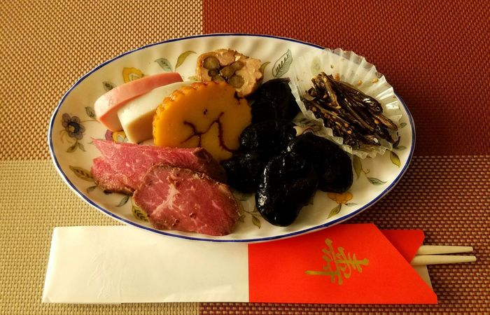 HAPPY NEW YEAR 2017!!Japanese Food New Year Dishes Japanese Tradithional Food 'OSECHI' Auspicious Food Food And Drink Food Plate No People Indoors  Freshness Close-up Fried Egg Healthy Eating Egg Yolk Ready-to-eat Day