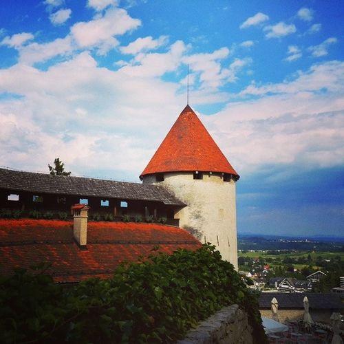 BledCastle . ..Bled Castle in Slovenia..