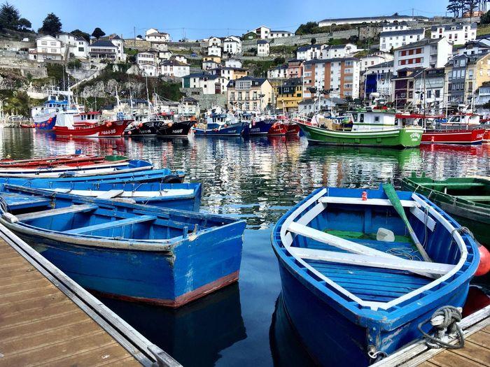 iPhone: puerto de Luarca-Asturias-España