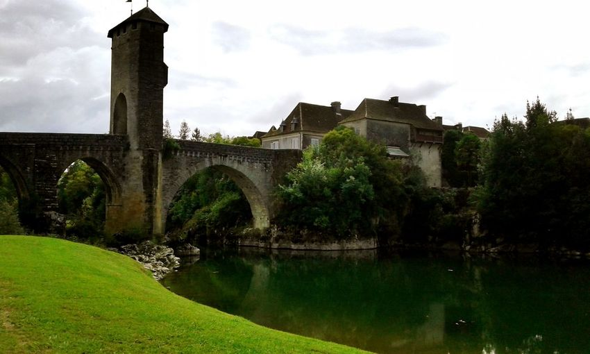 Inmytown Bridge Medieval Historic Landscape Nature Oldstonebridge Old Buildings Arch Oldstone Heritage Building Fortified Wall History Built Structure The Past Building Exterior Architecture South West Of France Waterscape Eye4photography  Taking Photos Beauty In Nature