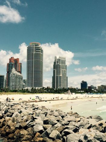 Today had a great day. Beautiful weather in south beach