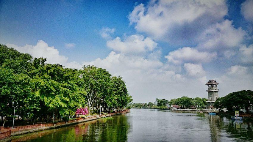 Cloud - Sky Outdoors At Alor Setar Malaysia Scenics River Of Kedah Riverside
