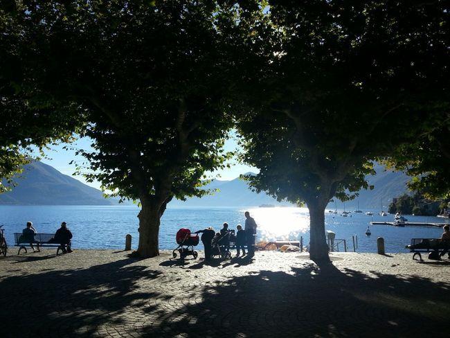 Walking Around Enjoying The Sun People Watching Relaxing