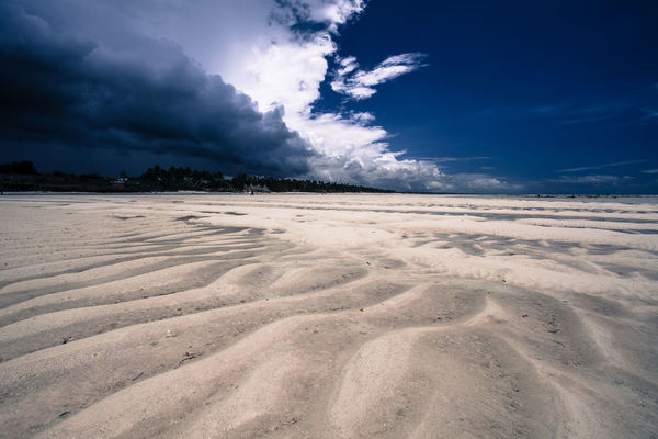 Beach Clouds Clouds And Sky Sand Sea Zanzibar Zanzibar_Tanzania Zanzibarisland Landscapes With WhiteWall