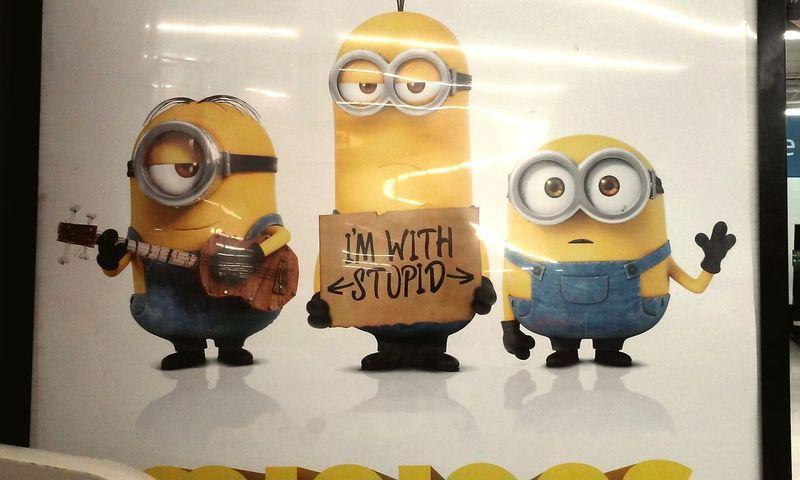 Stupid glare lol😆 Taking Photos Minions Minion Love Minions ♥♥ ILove ♥ Minions
