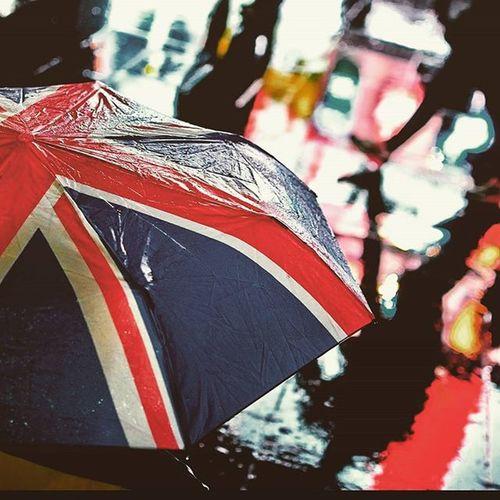 Regnet😝 Regenbogen Berlin Família Umbrella Kolory Great Wielkabrytania Taniec W Deszczu