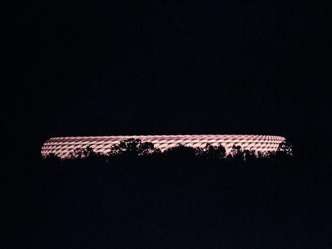Allianz Allianz Arena Allianzarena Architecture Architecture_collection Dark Fcbayern München Night Night Lights Night Photography Night View Nightphotography Nightshot No People Red Silhouette