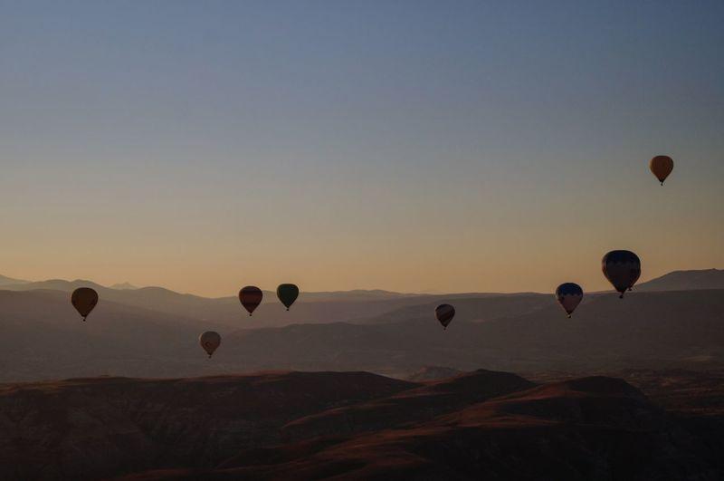 Panoramic view of cappadocia