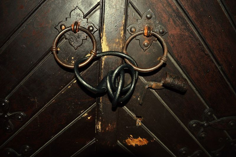 Mix Yourself A Good Time Door Lock Modern The Gate Of The Castle