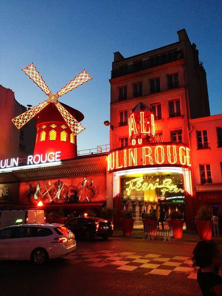 France Paris Moulinrouge