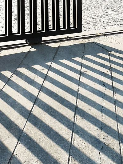 Shadow Sunlight Backgrounds Pattern Metal Grate Barbed Wire Striped Sewage Razor Wire Chainlink Fence Zebra Barricade Fence Sewer LINE Zebra Crossing Road Marking Spiked Empty Road White Line Sharp Stars And Stripes Full Frame Stone Tile