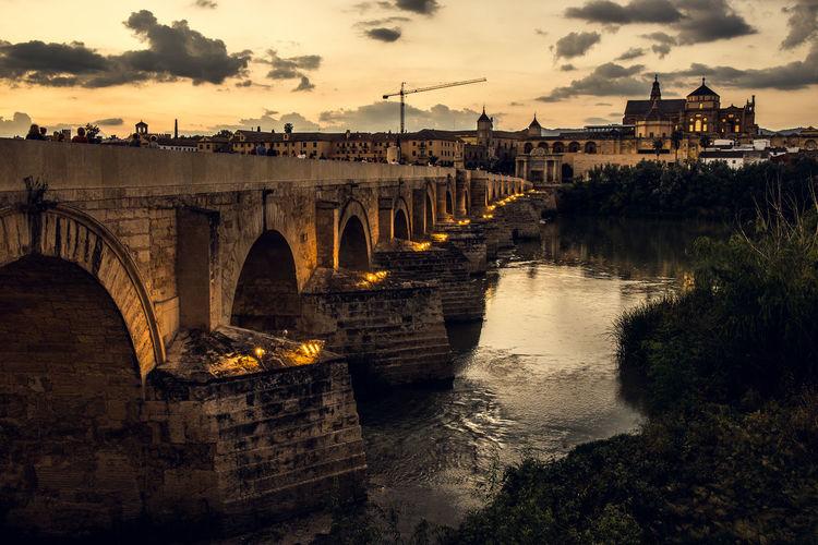 Bridge over river in cordoba