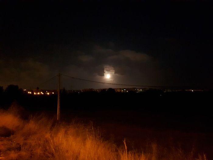 White moon.