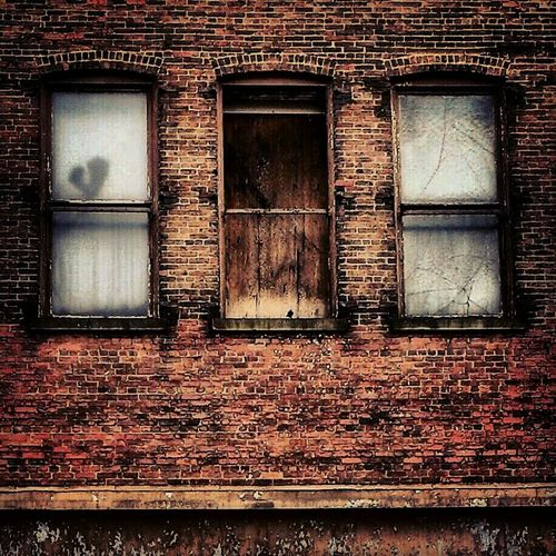 Hanging Out Windows Abandoned & Derelict Filthyfeeds #filthy  Abandoned Places Evilred Lousyfeeds Creepywindows