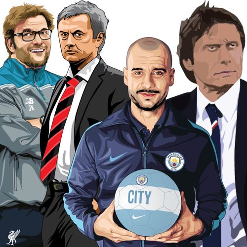 My art. What a season next season !!!! #CFC #LFC #MCFC #MUFC and Spurs And Leicester 😜⚽️ and Arsenal lol 👍
