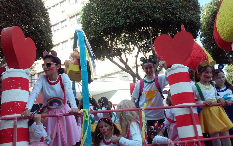 Candy Care Bears Carnival Carnival Parade Carnival Spirit 2016 Cute Cyprus Limassol Kids Kids At Parade Kids Costumes