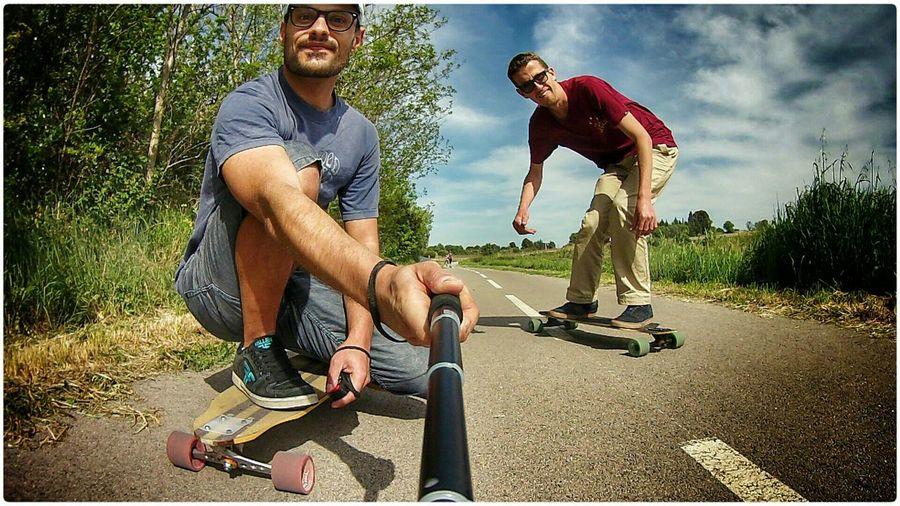Cruising Longboards Longboard Longboarding That's Me Selfie Selfportrait Enjoying Life