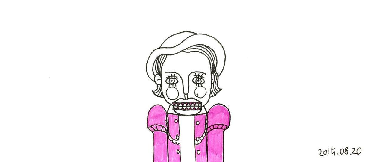 Dolls Doll Nutcracker Pink The Nutcracker  Drawing Draw Sketch Illustration