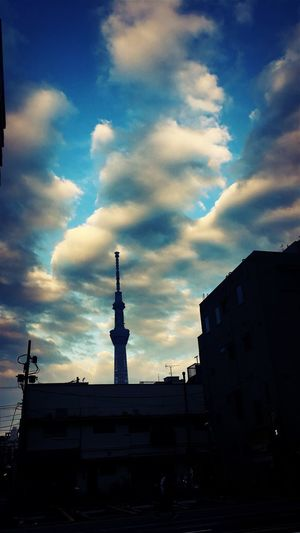 Tokyo Tokyo Sky Tree Tower Skytree Cloud - Sky Sky Building Exterior Architecture Built Structure Building Nature No People City