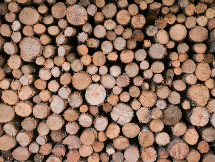 Fireplace wood pile on top of each other Abundance Backgrounds Close-up Day Deforestation Environmental Issues Firewood Forestry Industry Fuel And Power Generation Large Group Of Objects Log Lumber Industry No People Outdoors Stack Timber Wood - Material Woodpile