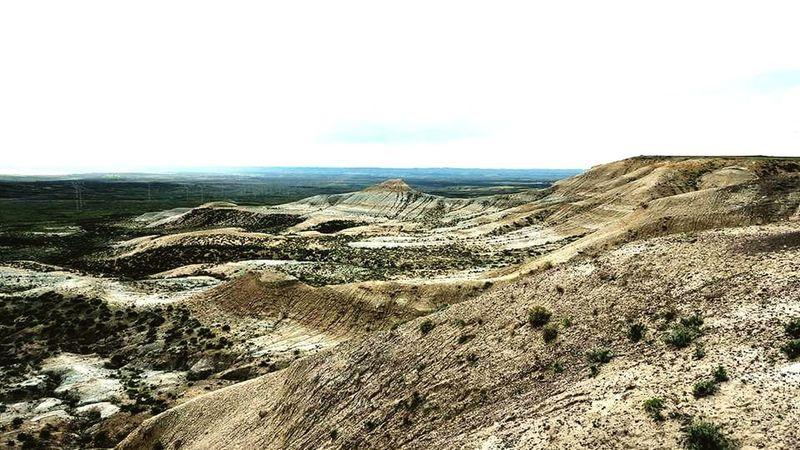 Sand Desert Arid Climate Sky Landscape Arid Landscape Physical Geography Eroded Geology