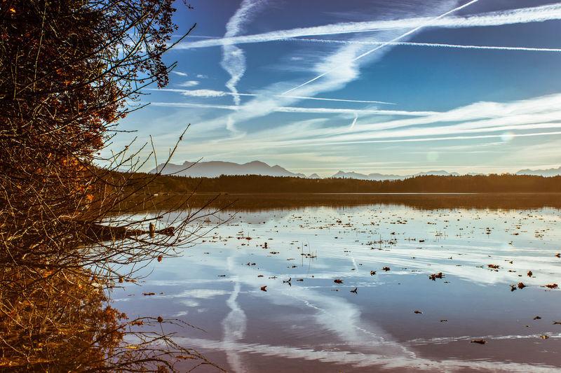 Bissl im Archiv gekramt und drüber gestolpert Beauty In Nature Day EyeEm Best Shots Landscape Nature No People Outdoors Reflection Scenics Sky Tree Water