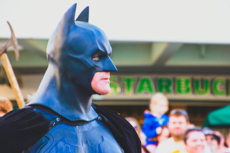 Arts Culture And Entertainment Celebration Close-up Cosplay Cosplayer Costume Day Disguise Focus On Foreground Marvel Marvellegends Outdoors Pop Culture Street Parade Street Photography Supanova Superhero Superheroes