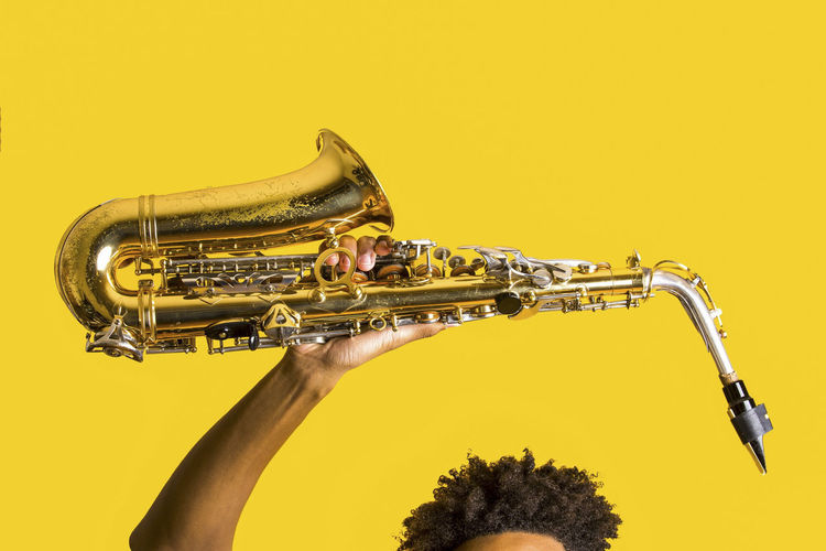 The Musician Black Lives Matter Black Love Black Pride Holding A Saxophone Natural Beauty Saxophone Saxophonist Yellow