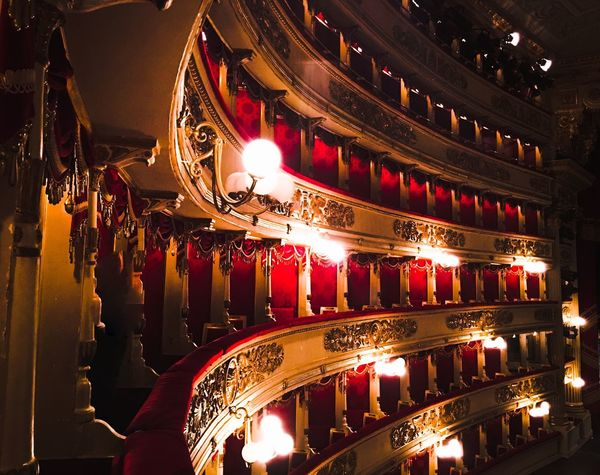 Lascalamilano Lascala Milano Mailand Operahouse Lights