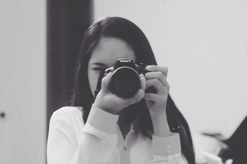 Taking Photos Blackandwhite Canon